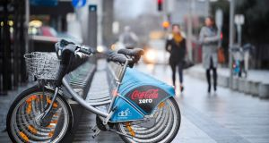 Advertising screens will be erected in Dublin 4 to pay for the Dublin Bikes rental scheme, despite opposition from An Taisce and local councillors. Photograph: Aidan Crawley.