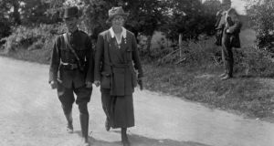 Irish revolutionary: Constance Markiewicz in Ireland in June 1922. Photograph: Walshe/Topical/Hulton/Getty