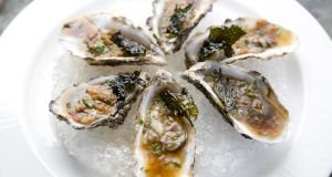 Love them or hate them?  Oysters tend to divide opinion. Photograph:  Harry Weir