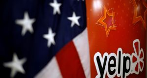 Yelp chief executive Jeremy Stoppelman dispatched the Irish workforce in the company's European headquarters in Dublin with one line via a conference call. Photograph: Jim Young/Reuters