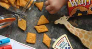 Lilly Higgins's Cheesy puff crackers