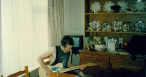 Jeff Buckley at Michael Murphy's home in 1992