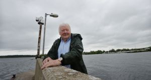 River Shannon Protection Alliance member Donal Whelan at Dromineer Harbour on Lough Derg. Photograph: Alan Betson/The Irish Times