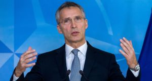 Nato secretary general Jens Stoltenberg who said after Donald Trump's win that  'a strong Nato is good for the United States, and good for Europe'. Photograph: EPA