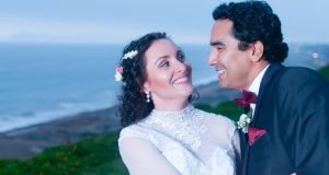 Our wedding story: From Lima with love