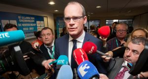 "Minister for Local Government Simon Coveney said it was ""imperative"" the Bill to allow a referendum on the future of water services underwent pre-legislative scrutiny. Photograph: Gareth Chaney/Collins"