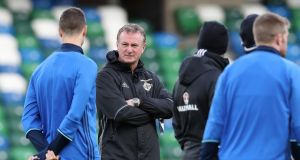 Northern Ireland manager Michael O'Neill is wary of Azerbaijan. Photograph: William Cherry/Inpho.