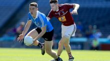 Dublin's Brian Fenton and Westmeath's James Dolan are both nominated for a Pearse medal for Leinster football. Photograph: Donall Farmer/Inpho