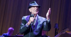 Leonard Cohen:  the death of a celebrity used to be mentioned at the end of the news or in an obituary. Today's media has changed that. Photograph: David Wolff-Patrick/Getty Images