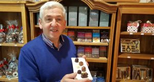 Jim Healy at The Chocolate Garden of Ireland's premises in Rath, on the Wicklow/Carlow border
