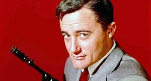 Sauve... Robert Vaughn as spy Napoleon Solo in The Man From U.N.C.L.E. File photograph: Getty Images