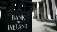 Bank of Ireland rose 4.2 per cent,  on the back of hopes red tape around the sector might ease. Photograph: Bryan O'Brien