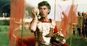 "Roman emperor Caligula: ""sexual perversity, sadism and an almost rabid focus on increasing the personal power of the emperor"".    Above, Malcolm McDowell in the 1979 film 'Caligula'."