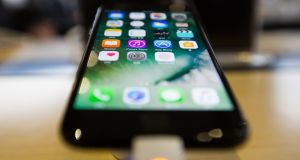 Apple's latest mobile operating system isn't perfect. Photograph: SeongJoon Cho/Bloomberg