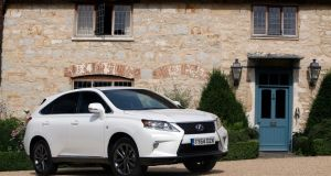 81 Lexus RX: great styling with   dramatic angles and grille