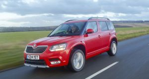 86 Skoda Yeti: practical family motoring with competitive pricing