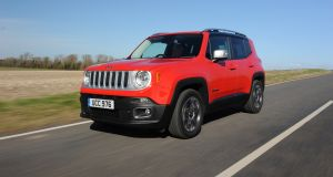 92 Jeep Renegade: a big hit across Europe