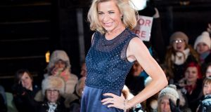 Katie Hopkins: In booking her, the Late Late Show placed itself on par with the worst of the barrel-scraping nighttime radio phone-in shows. Photograph:  Ian Gavan/Getty Images