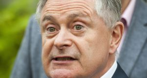 "Labour leader Brendan Howlin: ""For too long these agencies have been allowed to lie to women in the most grotesque fashion."" Photograph: Dave Meehan"