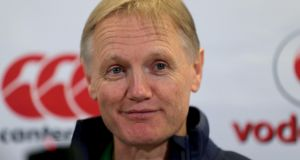 Ireland coach Joe Schmidt has no new concerns after Saturday's win over Canada. Photograph: Donall Farmer/Inpho.