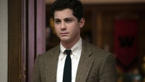 Logan Lerman as the rebellious student Marcus in Indignation