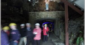 Visitors at the Arigna Mining Experience in Co Roscommon.  Photograph: Brian Farrell