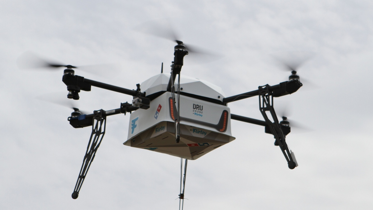 Domino\'s claims world\'s first pizza delivery by drone