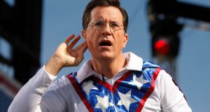 Stephen Colbert  Photograph: Reuters/Jim Bourg