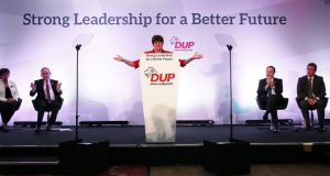 Arlene Foster could lead unionism broadly and generously. She cannot do this with petulance and bad grace. Photograph: PA