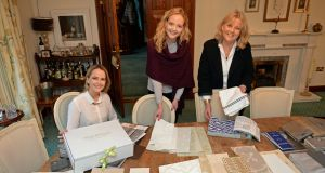 Rebecca, Danielle and Sari Winckworth  at home and work in Rathmichael. Photograph: Eric Luke