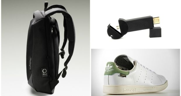 buy online e7a88 9358d Travel Gear: Stan Smith goes waterproof, secure rucksacks ...