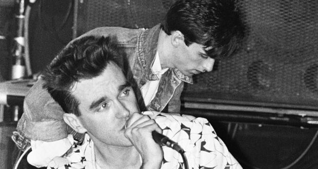 Morrissey And Johnny Marr Of The Smiths With Seven Groups Parents Irish