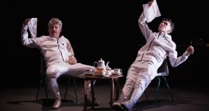 Inmates out: Andrew Bennett and Mark O'Halloran in The Importance of Nothing