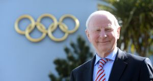 Pat Hickey, former president of the Olympic Council of Ireland, has been granted his passport back by a Brazilian judge so he can leave Brazil for medical treatment. Photograph: Alan Betson