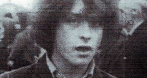 Kevin McKee, of Moy Yard, White Rock, West Belfast, Co Antrim, went missing in October 1972. His remains were recovered from reclaimed bogland at Coughalstown, Wilkinstown, Co Meath on June 25th, 2015. File photograph: Family Handout/PA Wire