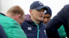 Joe Schmidt: 'You certainly wouldn't put us as favourites'