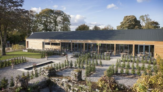 The Green Barn's star attraction is its walled kitchen garden which is under the watch of gardener Dermot Carey