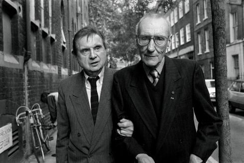 Painter Francis Bacon and writer William S Burroughs. Photograph: John Minihan