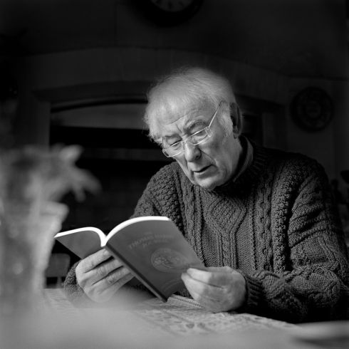 Seamus Heaney on his 70th birthday in 2009. Photograph: John Minihan