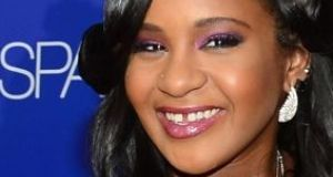 File image of Bobbi Kristina Brown. File photograph: Getty Images