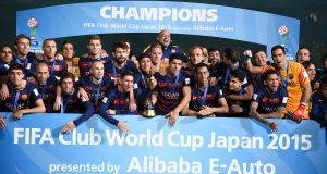 Barcelona are the current Club World Cup champions. Photograph: Getty Images