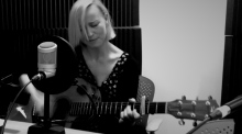 Cathy Davey performs for the Women's Podcast