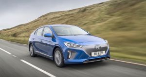 The Ioniq  comes in three flavours: full electric,  a regular petrol-electric 1.6-litre hybrid version and an upcoming plug-in hybrid version Hyundai is hoping will deliver 50km of full-electric driving before resorting back to hybrid mode