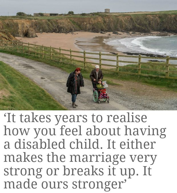 Minding my disabled daughter: 'I don't want to do this any more'