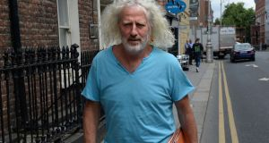 Independent TD Mick Wallace: told Dáil he wrote letter to Nama chairman Frank Daly. Photograph: Dara Mac Dónaill