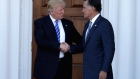 Trump says meeting with old rival Romney 'went great'
