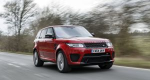 75 Range Rover Sport: Executive jet appeal but on the road
