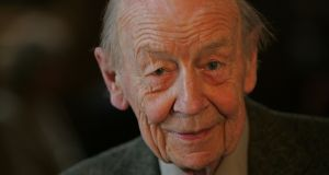Irish writer William Trevor has died at the age of 88. File photograph: Eric Luke/The Irish Times