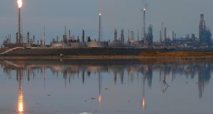 An oil refinery in Venezuela. Opec would like a deal to limit output. Photograph: Carlos Garcia Rawlins/Reuters