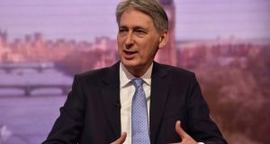 Britain's chancellor of the exchequer Philip Hammond: The person on £20,000 has a strong claim on his marginal pound; the person who dreams of earning that much has a stronger one. Photograph: Jeff Overs/BBC/Reuters